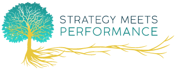 Strategy Meets Performance Logo